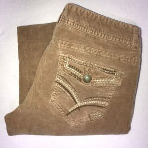 Maurices Corduroy Stretch Boot Cut Pants 9/10 30